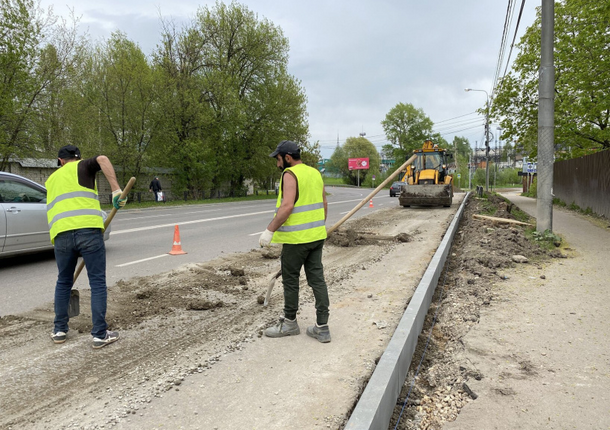 В Химках были отремонтированы 3 дороги