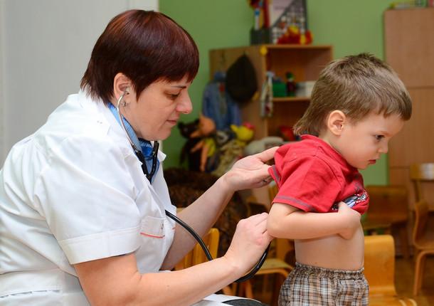 В Химках прошла диспансеризация детей от 1 до 3 лет