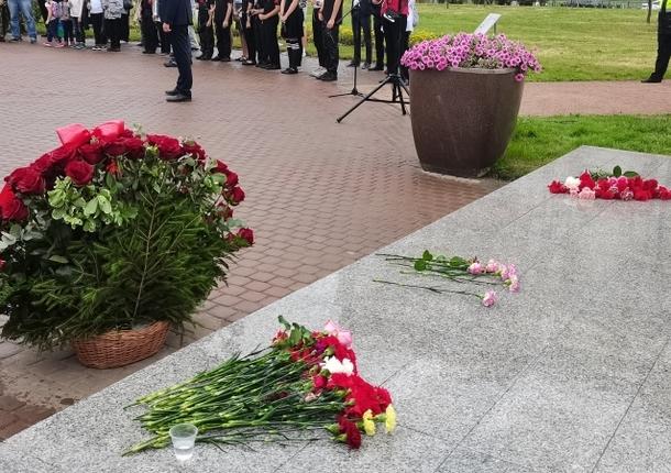 В сквере имени Марии Рубцовой был отмечен день ВДВ